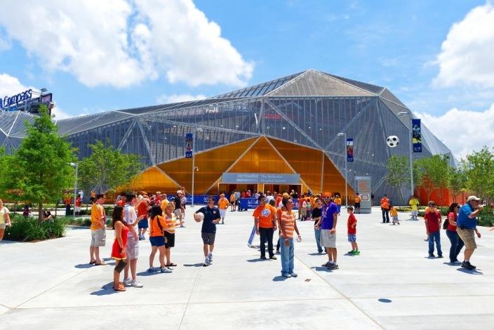 美国BBVA罗盘体育场景观