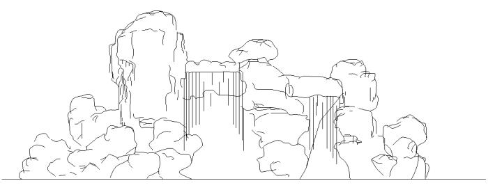 某政府单位室外环境景观全套施工图