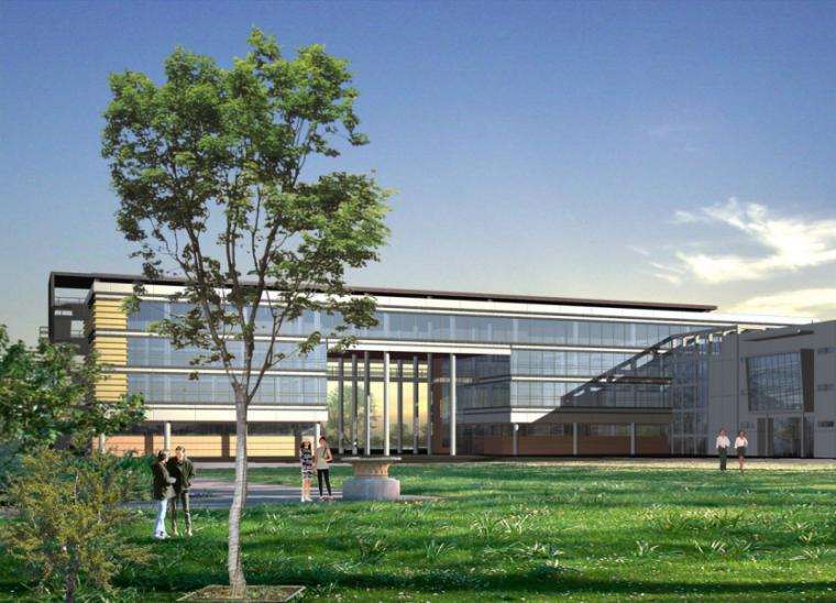 [安徽]师范大学新校区总体规划设计方案文本(科技,生态)