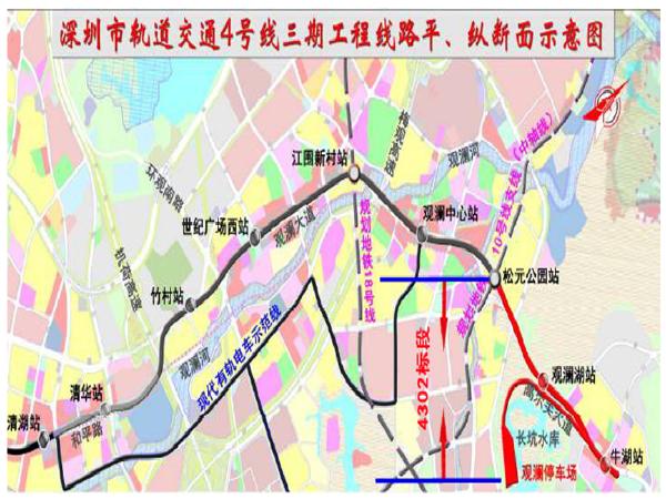[深圳]城市轨道交通4号线三期主体工程二工区施工方案(170页)