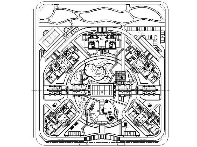 [北京]金地花園全套景观施工图设计(包含CAD+320个文件)