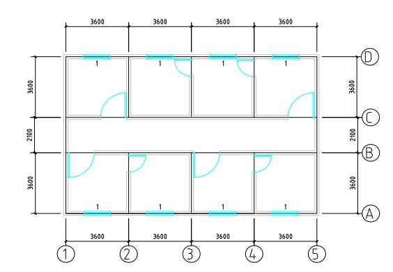 砖混结构办公楼结构设计(PDF,14页)_1