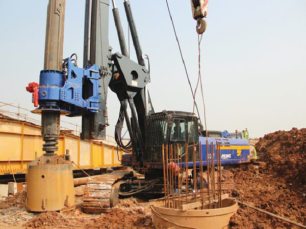旋挖桩20米以上钢筋笼工艺!