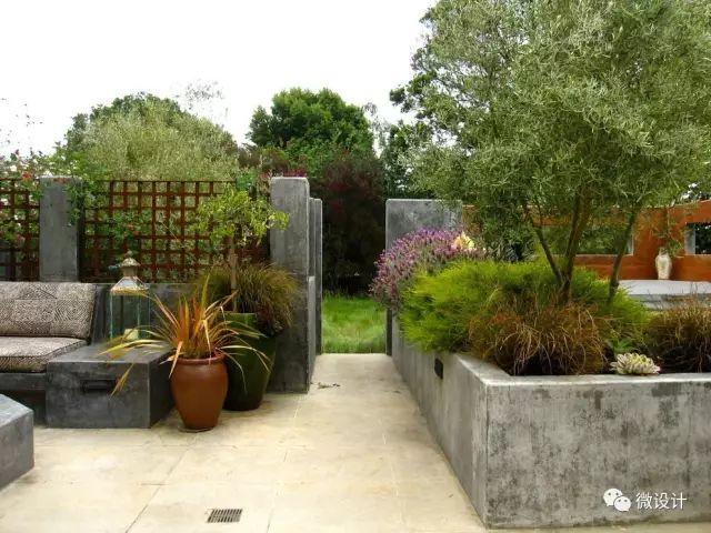 各式各样的庭院景观墙,美_21