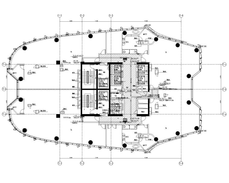 北京超高层SOHO毛坯电气图纸