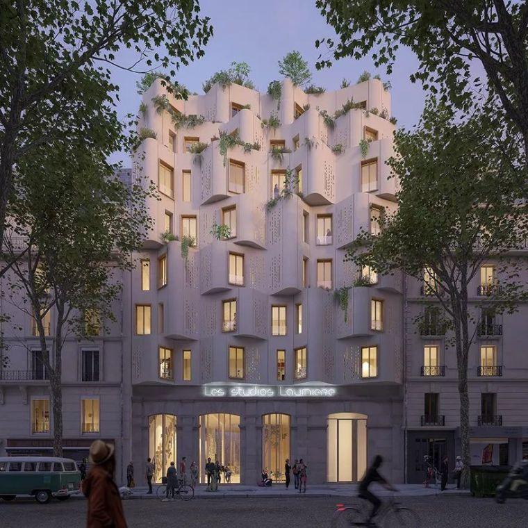 巴黎月桂音乐中心|WY-TO事务所