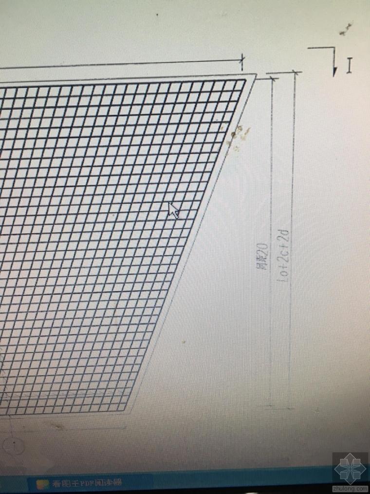 圆管涵基础钢筋构造图