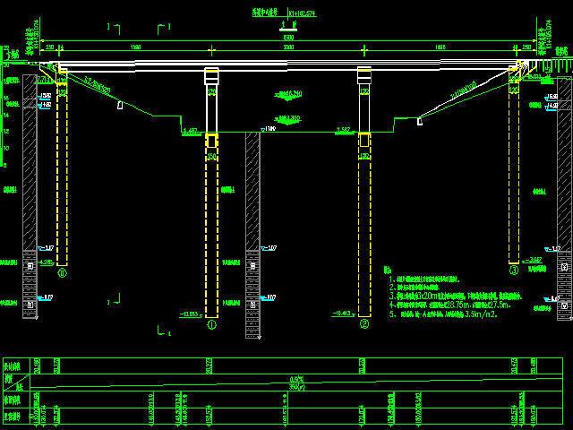 2016年设计红线宽45m~60m城市主干道图纸267张CAD(空心板桥,排水照明交通绿化)