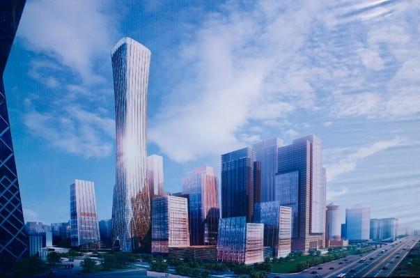 新技术成就超高异形摩天楼,中国尊将成工程人的骄傲
