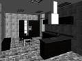 BIM模型-revit模型-餐厅厨房模型