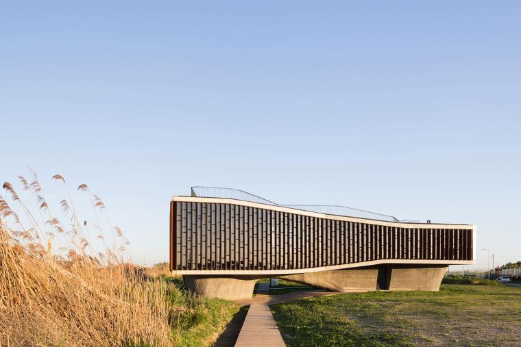 葡萄牙Aveiro湿地公园瞭望台
