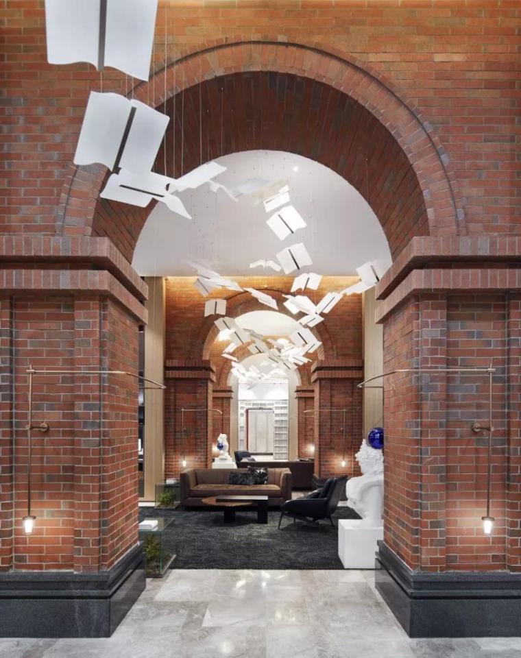 万科   宛如魔法图书馆的室内设计!