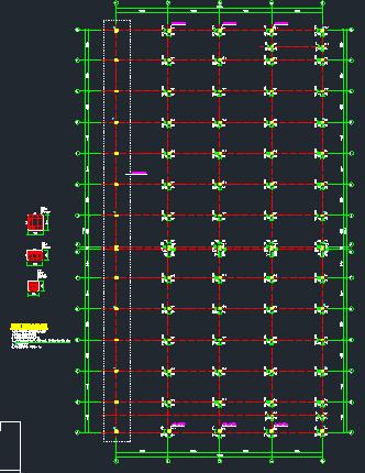 钢结构框架厂房施工图纸(含建筑结构、给排水)_3