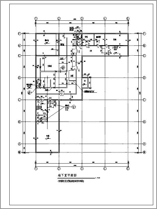 5套现代多层购物中心商业建筑设计施工图CAD