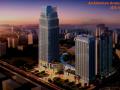 [长春]城市贸易中心公园景观住宅景观规划设计方案