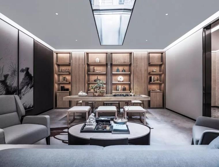 800㎡新中式别墅样板房