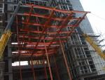 [QC成果]让16.5米长钢桁架结构雨篷悬挑起来PPT(46页)
