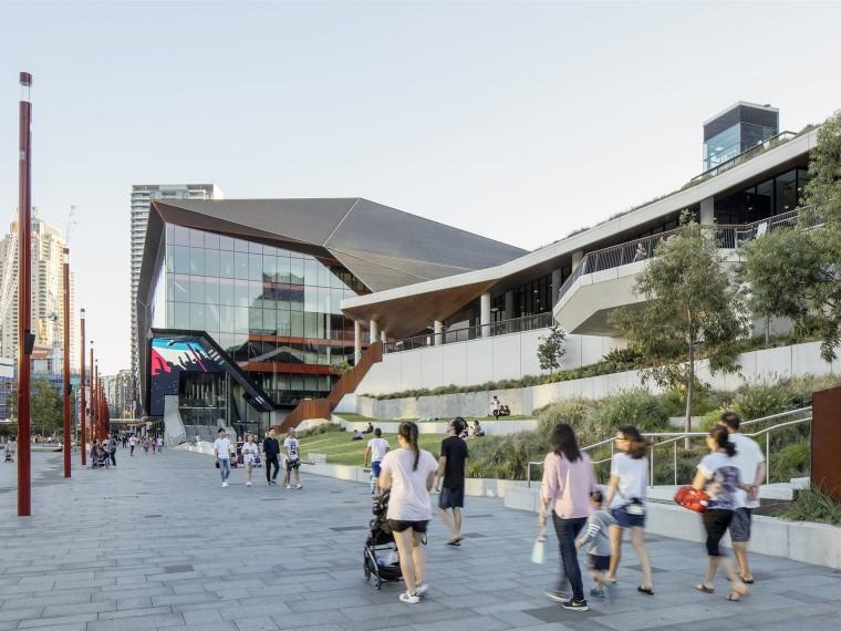 悉尼达令港公共空间