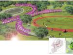 """[云南]""""自然山林""""大学城道路景观规划设计"""