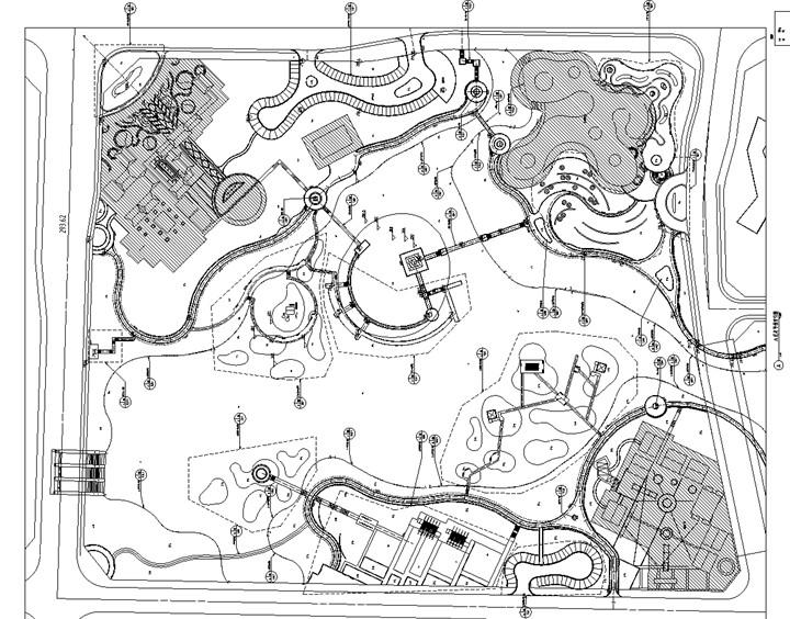 [四川]开放性湿地公园景观设计施工图(著名国际事务所)