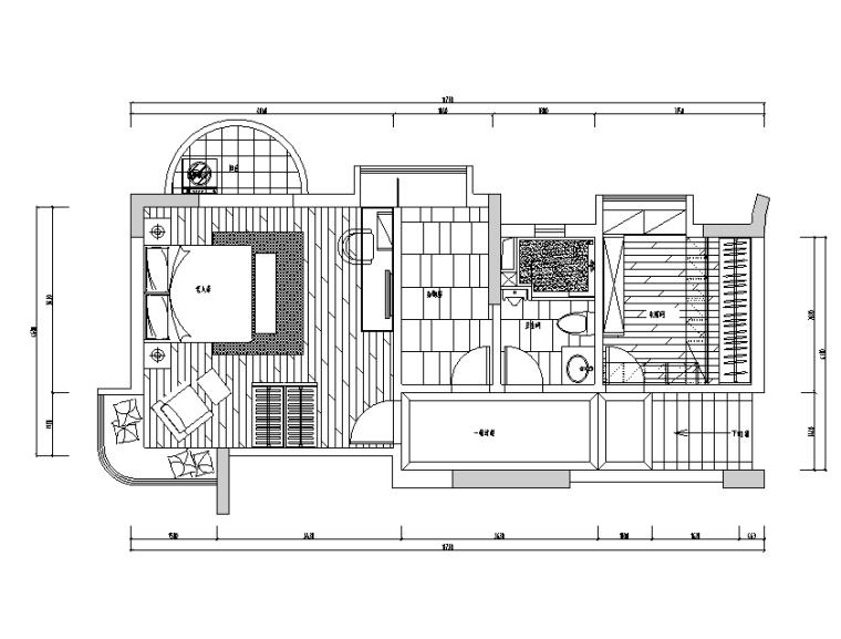 [陕西]怡宝花园别墅设计施工图(附效果图)