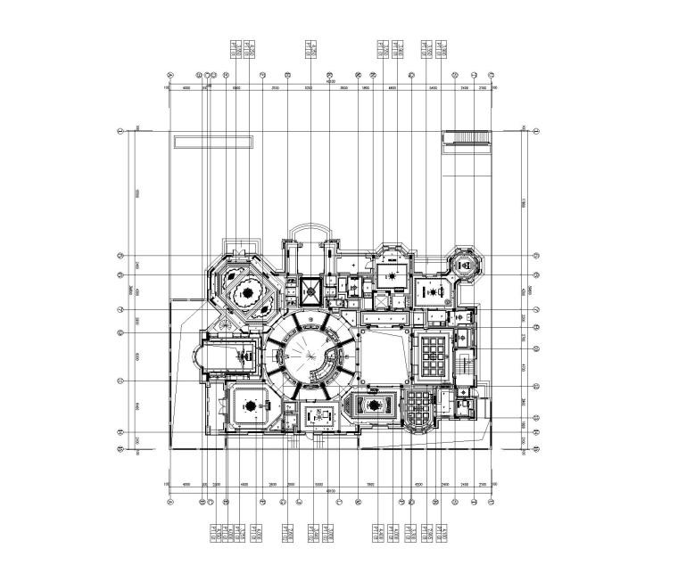 [上海]法式新古典高尔夫别墅样板间装饰施工图(附效果图)_3