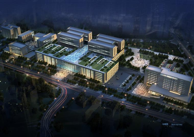 [重庆]医科大学附属第二医院建筑设计方案文本