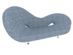时尚花式沙发3D模型下载