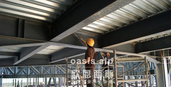 防火涂料在钢结构建筑防火配套涂装流程中的作用