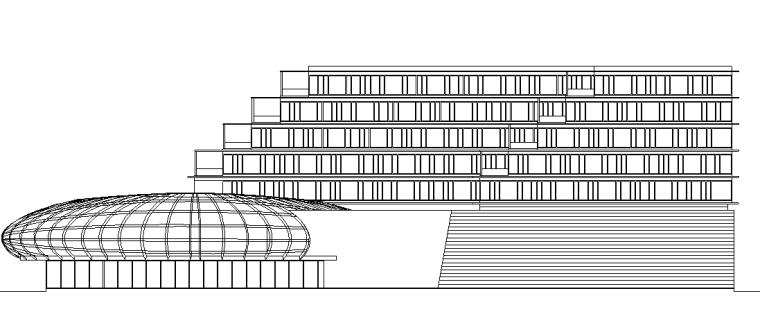 波尔卡酒店酒店CAD施工图_4
