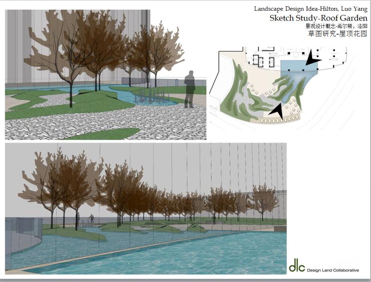 某居住景观设计概念-国外设计所-效果图