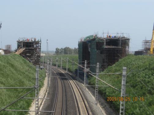 铁路立交特大桥跨既有京哈铁路转体施工方案(79页)
