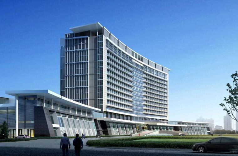 [江苏]某市旅游商务中心及生态公园规划办公楼文案(CAD+SU)