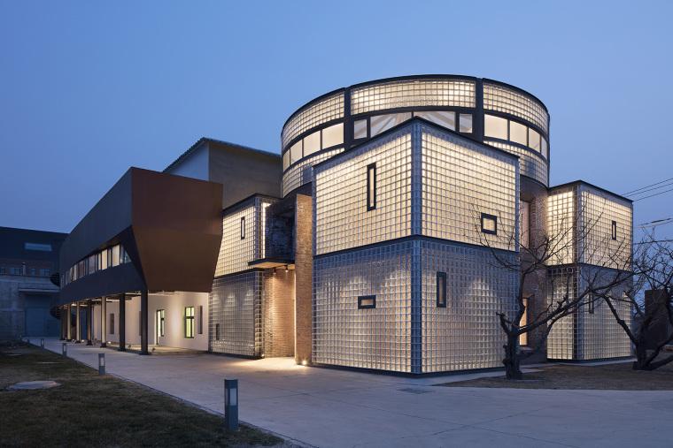 北京砖造锅炉房改造金福青年旅社