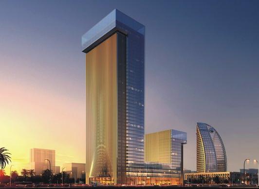 海南大厦主楼结构竖向变形分析-中建院