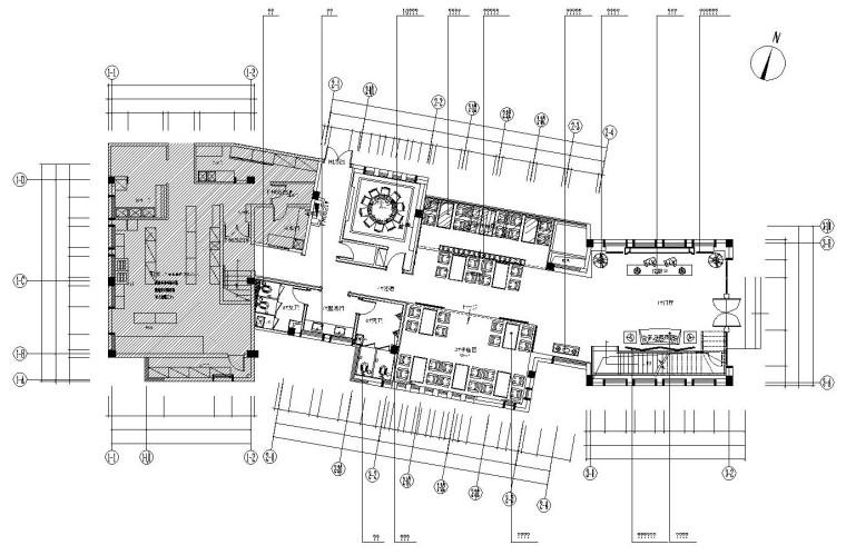 [江苏]苏州雅韵阁大酒店全套施工图设计及效果图