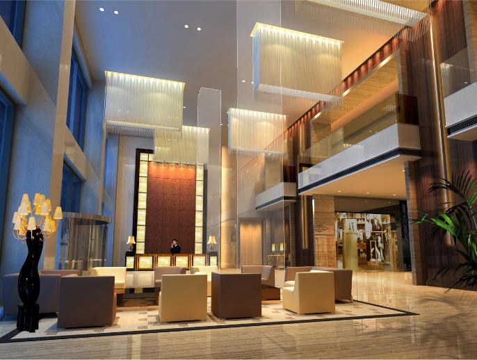 7500平米公寓酒店设计施工图(附效果图)_5