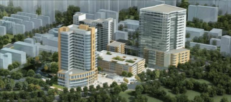 [BIM案例]杭政储出[2015]45号地块商业商务用房项目