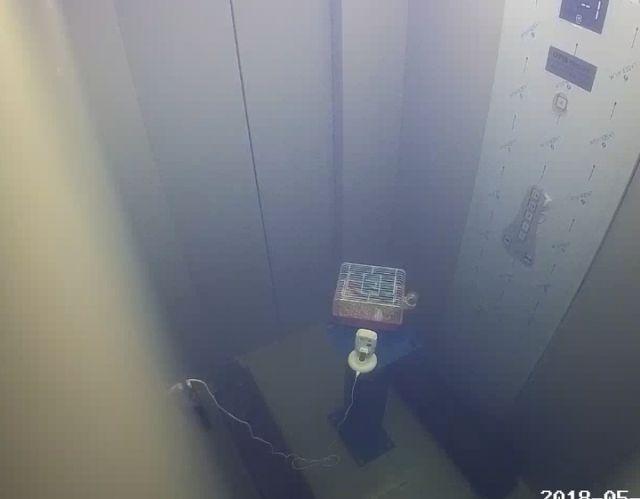 这个实验告诉你发生火灾为什么不能做电梯!_7