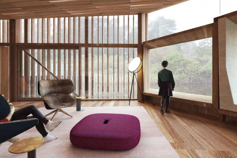 创意十足的顶级度假山庄设计,现代、自然、大气!_7