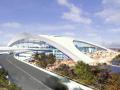 现代风格广州标志性某交通建筑设计方案文本