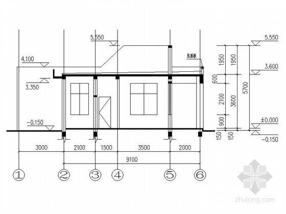 [合集]24套大门建筑施工图(学校、接待中心、公司大门、欧式)_24
