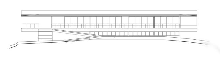 太平洋海岸边的粗犷住宅立面图 (20)