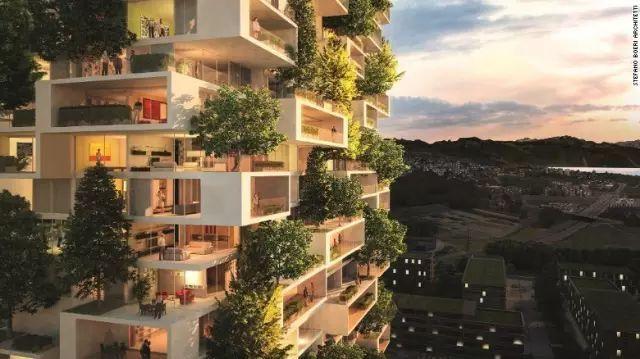 亚洲第一个垂直森林在南京开工,空中花园的时代来了