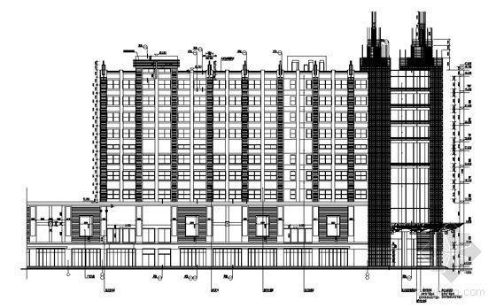重庆希尔顿宾馆设计方案(全套施工图)
