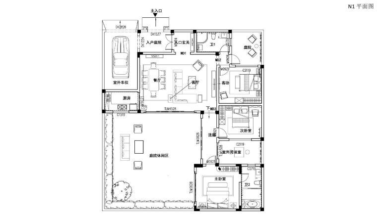 [苏州]知名地产公司淀山湖现代中式别墅软装设计方案