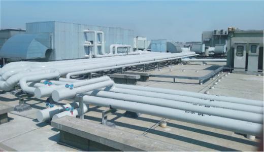 暖通工程案例之国际商贸城暖通空调施工组织设计