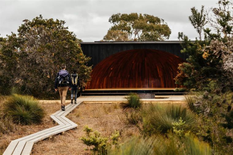 澳大利亚威廉山国家公园徒步宿营点-1