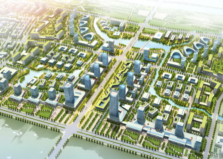 [北京]联想产业园概念性规划设计方案文本