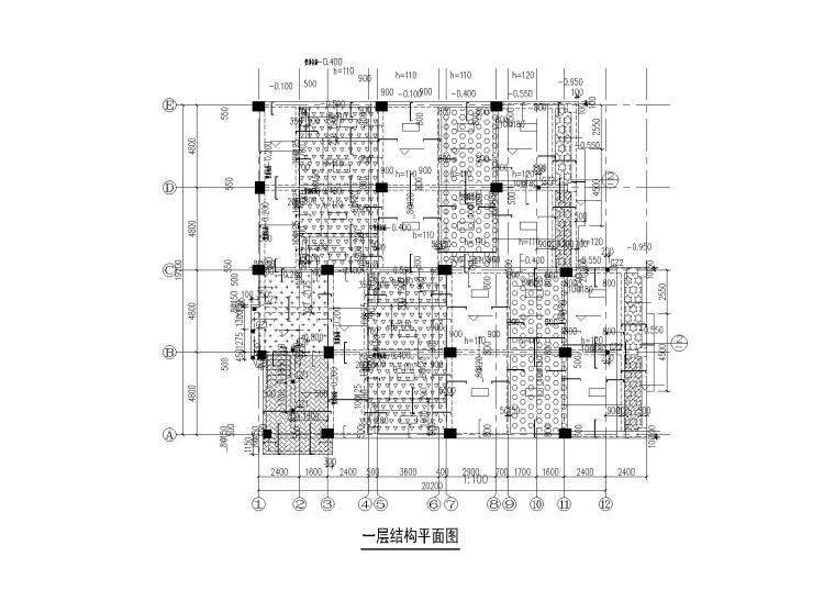 [四川]希尔顿酒店四区(行政用房)全套施工图(建筑水暖电)